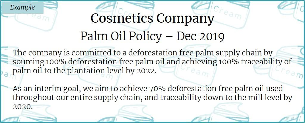 """What """"good"""" looks like for palm oil"""