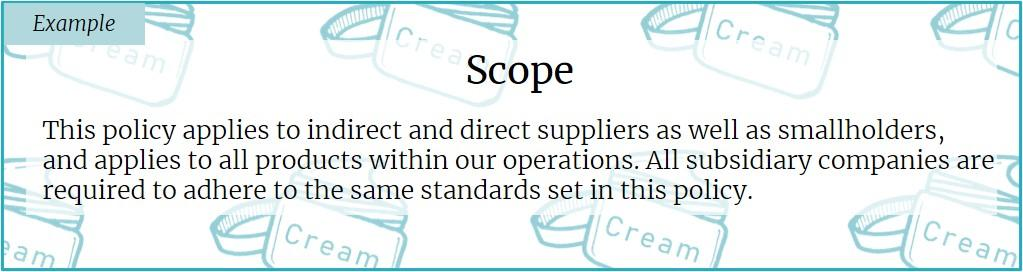 """What """"good"""" looks like for scope"""